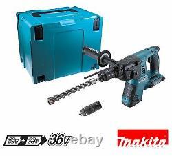 Makita DHR264ZJ Twin 18v li-ion SDS Plus Rotary Hammer Drill MakPac Type 4 Case