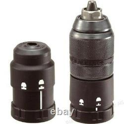 Makita DHR281ZJ 36v 18v LXT Twin SDS Brushless Hammer Drill AVT + Makpac + Chuck