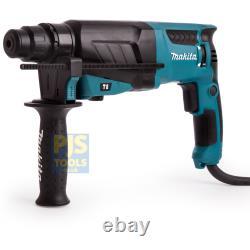 Makita HR2630 240v sds hammer drill 800w drill, hammer & chisel 3 yr warranty