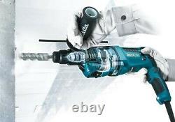 Makita HR2631F 110v SDS Plus Corded Rotary Hammer Drill 26mm AVT + Chuck + Bits