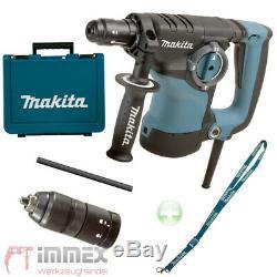 Makita HR2811FT Bohrhammer Kombihammer SDS Plus + Schnellspannfutter