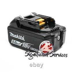 Makita XRH01Z 1 18V LXT SDS plus Brushless Rotary Hammer Drill 5.0 Ah Battery