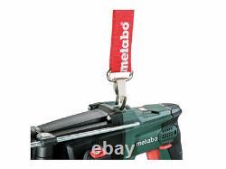 Metabo 600210800 18v 2x4.0Ah LiHD LTX SDS Hammer Drill in Case