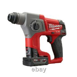 Milwaukee 2416-22XC M12 FUEL 5/8 SDS Plus Rotary Hammer Kit