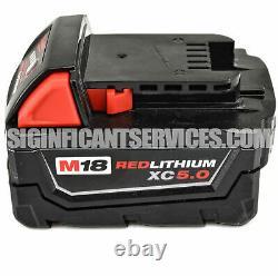 Milwaukee 2715-20 M18 FUEL 1-1/8 Li-Ion SDS Rotary Hammer 5.0 Ah Battery Kit