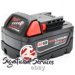 Milwaukee 2902-20 M18 1/2 Brushless Cordless Hammer Drill 5.0 Ah Battery Kit