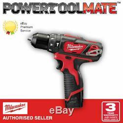 Milwaukee M12BPD-0 12v Cordless Hammer Drill Body Only
