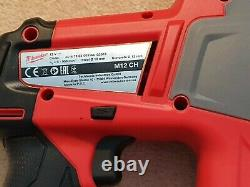 Milwaukee M12CH-0 Fuel SDS Hammer Drill with 2 x 6.0AH Batteries RRP £250