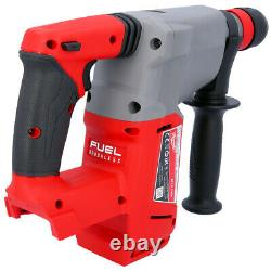 Milwaukee M18CHX 18V Fuel SDS Plus Hammer Drill with 4 Piece Acc. & Chuck