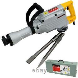 Neilsen 240v Electric Demolition Jack Hammer Drill Concrete Breaker Chisel 1500w