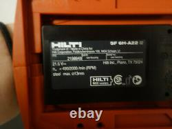 New Design Drill + Handle HILTI SF 6H-A22 Cordless Hammer TOOL ONLY No Battery