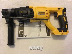New Dewalt DCH133B 20 Volt Max XR Brushless 1 SDS Plus D-Handle Rotary Hammer
