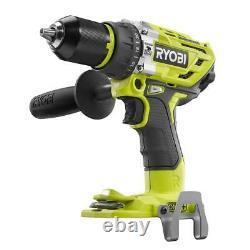Ryobi P251 18-Volt 18V Li-Ion ONE+ Brushless Hammer Drill (Bare Tool Only)