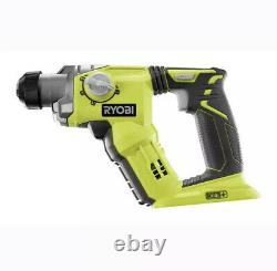 Ryobi Rotary Hammer Drill P222 18-Volt ONE+ Lithium-Ion 1/2 SDS-Plus TOOL ONLY