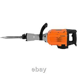 VEVOR 3500W Demolition Hammer Concrete Breaker Hammer Drill Electric 2-Chisels