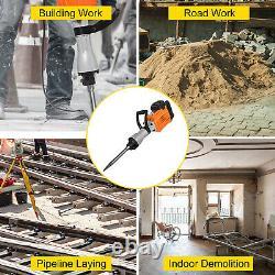 VEVOR 3600W Demolition Hammer Concrete Breaker Hammer Drill Electric 2-Chisels