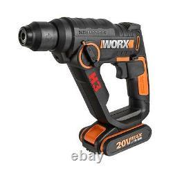 WORX WX390 18V (20V MAX) 3-in-1 H3 Rotary Hammer Drill