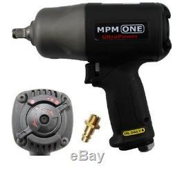 1/2 Premium Druckluft-schlagschrauber 2005 Nm-one Ultrapower Mpm Twinhammer Neu