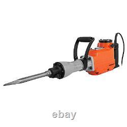 2200w Electric Demolition Hammer Jack Drill 2000 R/min Disjoncteur En Béton 2 Ciseau