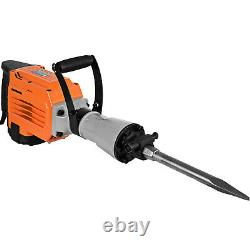 3500w Electric Demolition Jack Hammer Breaker 95mm Béton 1400rpm Non-glissement