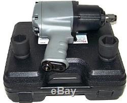 3/4 Entraînement Clé À Chocs Air Double Marteau 1250 Ft / Lb Max 2 1 Dr Socket H D Gun