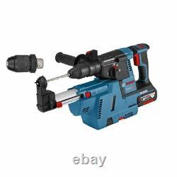 Akku-bohrhammer Gbh 18v-26 F 2x 6,0ah Akku+ Absaugung - L-boxx