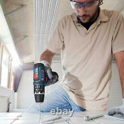 Bosch 12v Twin Pack Gsb Combi Hammer Drill + Gdr Impact Driver Lithium Ion