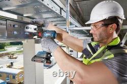Bosch 18v Brushless Gsb18v55 Combi Hammer Drill + Gdx18v200 Clé Du Conducteur D'impact