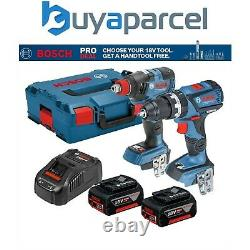 Bosch 18v Brushless Gsb18v60c Foreuse De Marteau Robuste Gdx18v200 Clé De Conducteur D'impact