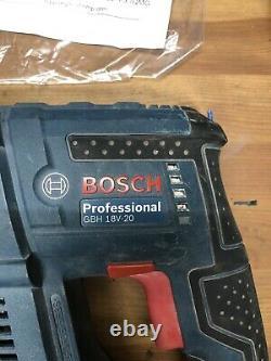 Bosch Gbh18v-20 Sds+ Plus Sans Fil Corps De Forage De Marteau Rotatif Seulement