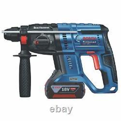 Bosch Gbh 18v-21 Sans Fil 18v Sds 3-mode Li-ion Hammer Kit, 061191172