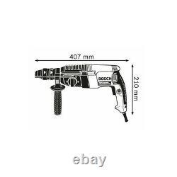 Bosch Gbh 2-26f Professional Bohrhammer 830watt Sds Mit Schnellwechselbohrfutter