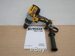 Brand New Dewalt Xr Dcd996 3 Vitesse Combi Marteau Drill Unité Nu