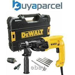 Dewalt D25033k 240v Sds+ 3 Mode Sds Hammer Drill + Bits + Chisel + Chuck + Tstak