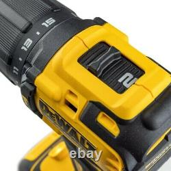 Dewalt Dcd709m1t 18v Xr Perceuse Compacte De Marteau Combi Sans Brosse Tstak 1 X 4.0ah
