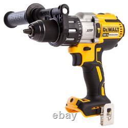 Dewalt Dcd996n 18v Xr 3 Vitesses Brushless Marteau Combi Drill Boîtier Nu