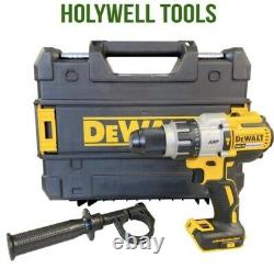 Dewalt Dcd996n 18v Xr 3-speed Brushless Hammer Combi Drill + Tstak Case