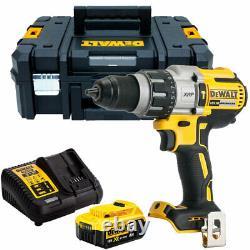 Dewalt Dcd996n Hammer Combiné Sans Brosse 18v Avec Chargeur De Batterie 1 X 5.0ah Et Tstak