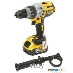 Dewalt Dcd996p2 Brushless 18v Xrp Combi Hammer Drill Inc 2x 5.0ah Batts