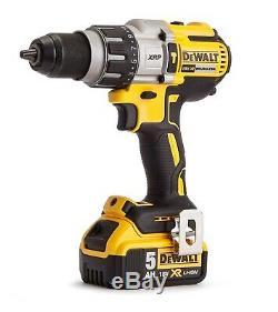 Dewalt Dcd996p2 Xr 3 Vitesse Brushless Combi Marteau 2 X 5.0ah Batteries