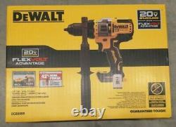 Dewalt Dcd999b 20v Max Bl Li-ion 1/2 In. Hammer Drill Driver (outil Seulement) Nouveau