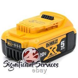 Dewalt Dch133 Dcf887 20v Max Xr 5.0 Kit De Forage À Impact Marteau Rotatif Sans Brosse 1