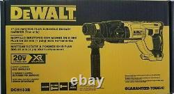 Dewalt Dch133b 20v Cordless Sds 1 Hammer Drill Rotatif Sans Brosse Max (outil Uniquement)