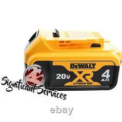 Dewalt Dch133b 20v Max 2-4,0 Ah Xr Perceuse À Marteau Rotatif Sans Brosse 1 D-handle