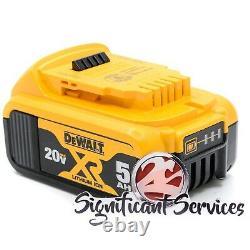 Dewalt Dch133b 20v Max 5.0 Ah Xr Brushless 1 D-handle Rotatif Hammer Drill Kit