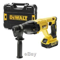 Dewalt Dch133m1 Li-ion Xr Brushless Sds + Rotary Hammer Drill