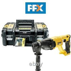 Dewalt Dch133n-xj 18v Sds Plus Hammer Forage De Cas T-stak Chiselling