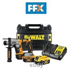 Dewalt Dch172p2 18v 2x5ah Li-ion Pinceau Xr Compact Sds+ Kit De Marteau Rotatif
