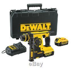 Dewalt Dch253 18v Xr Sans Fil Sds Plus Perceuse 2 X 4.0ah