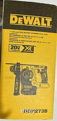 Dewalt Dch273b 1 20v Max Brushless Sds Plus Rotative Hammer Drill, (outil Nu)